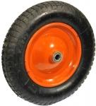 Запасное колесо (пневматическое) 400х15 мм для тачек HB 1101, HB 1301, PRORAB, 11007