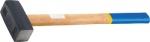 Кувалда, кованая головка, деревянная рукоятка, СИБРТЕХ